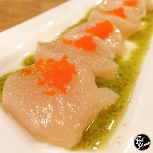 Jumbo Scallop Sashimi